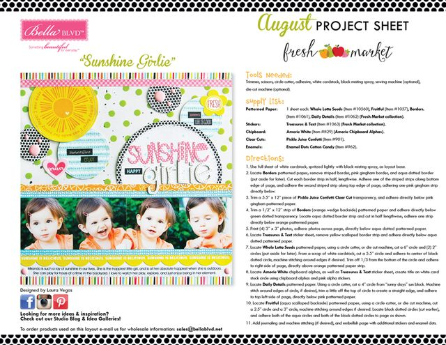 Fresh Market Project Sheet 2015